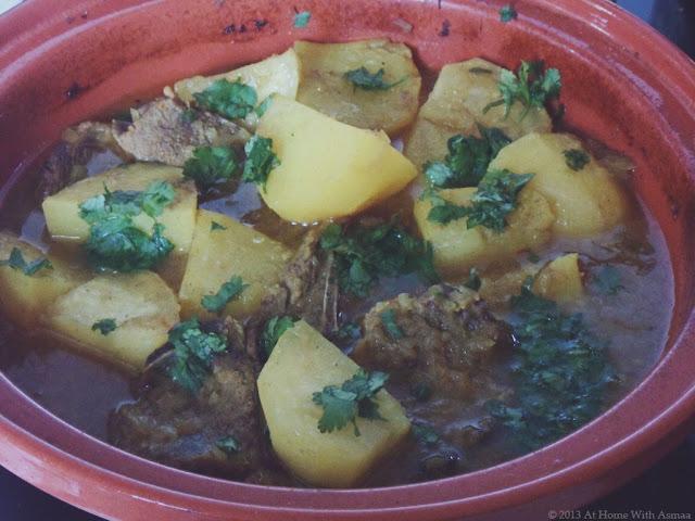lamb turnip and potato tagine