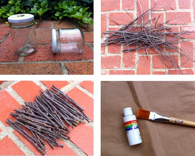 DIY: Velas con Trocitos Paso 1