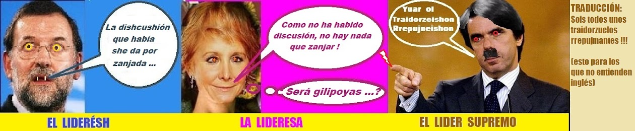 Mariano Rajoy LaEspeForPresident Esperanza Aguirre Madrid