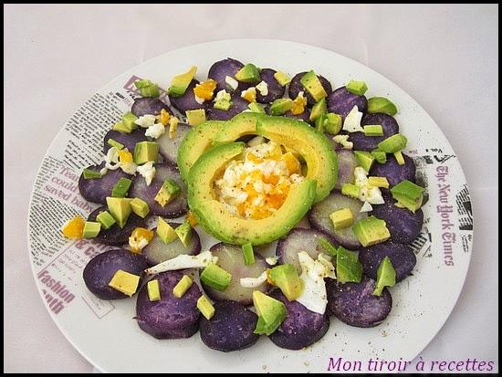 salade de vitelottes