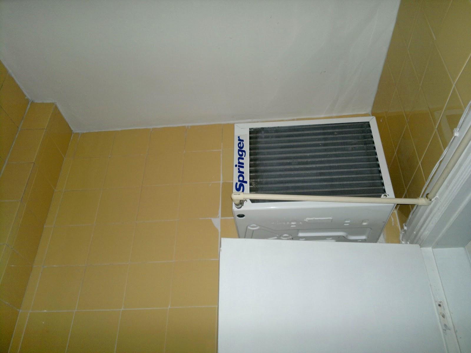 #614F14 Dicas do Gilson Eletricista: Um ar condicionado de janela poderá ser  1456 Suporte Ar Condicionado Janela Aluminio