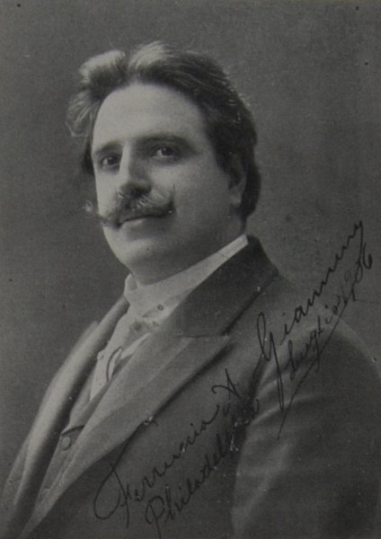 MAJOR RARITIES: FERRUCCIO GIANNINI (1868-1948) CD