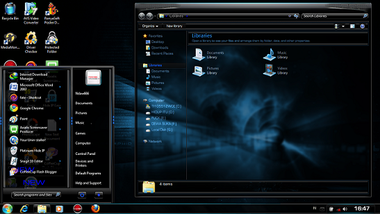 JadeNew Theme for Windows 7