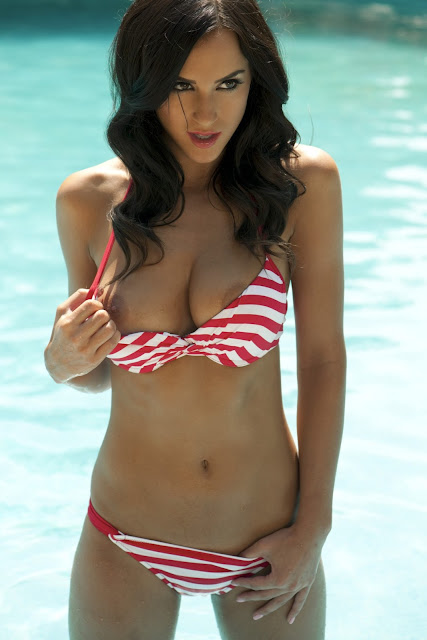 Rosie Jones sexy in bikini