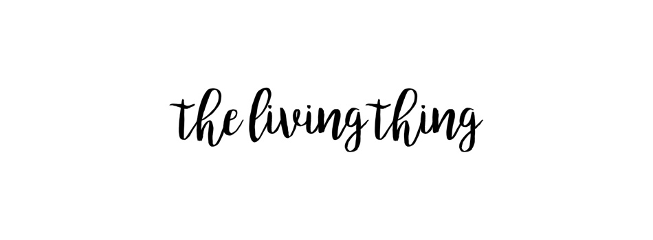 The Living Thing - personal blog.
