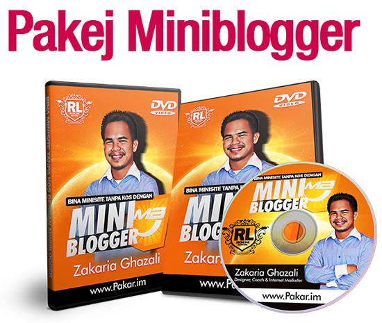 MiniBlogger Bina Minisite Percuma