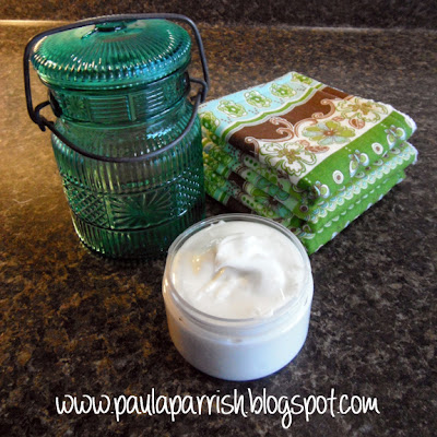 DIY Cold Cream Recipe