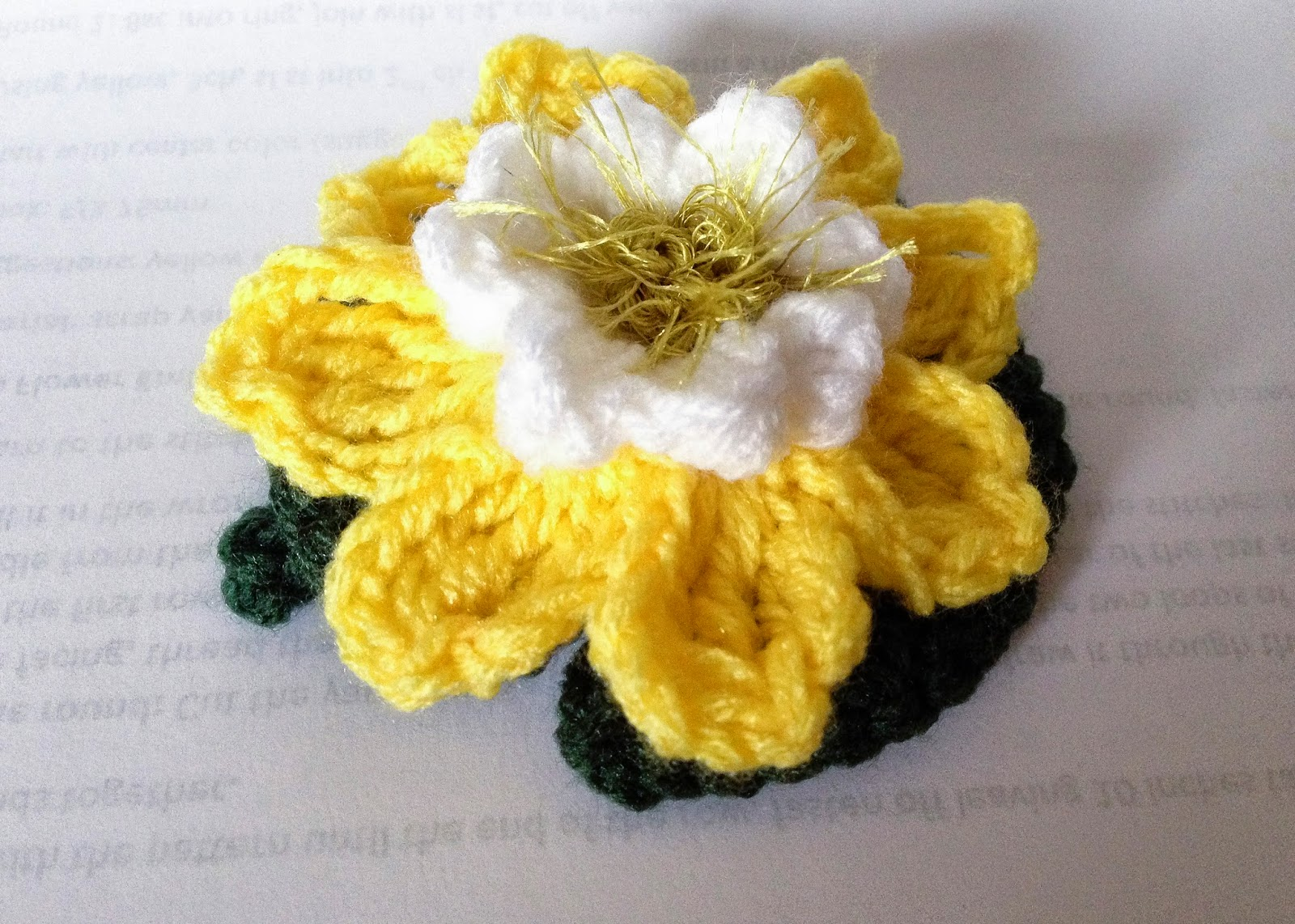Crochet rockstar flower of the week no 2 lotus if you like what you see and made something from my free patterns please credit me by mentioning my name and my blog and provide the link to my blog izmirmasajfo Gallery