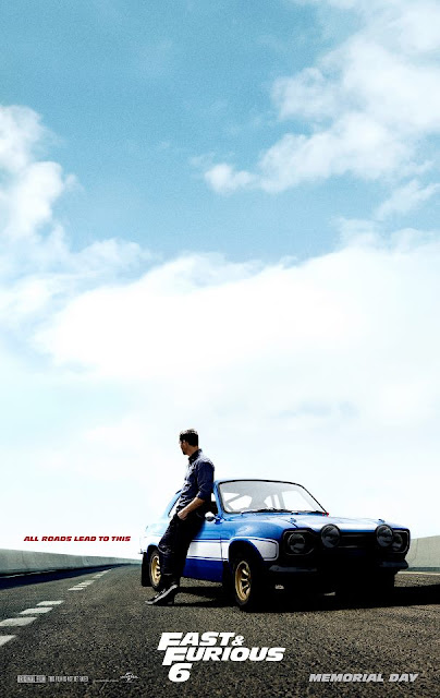 Poster Fast & Furious 6 con Vin Diesel, Dwayne Johnson