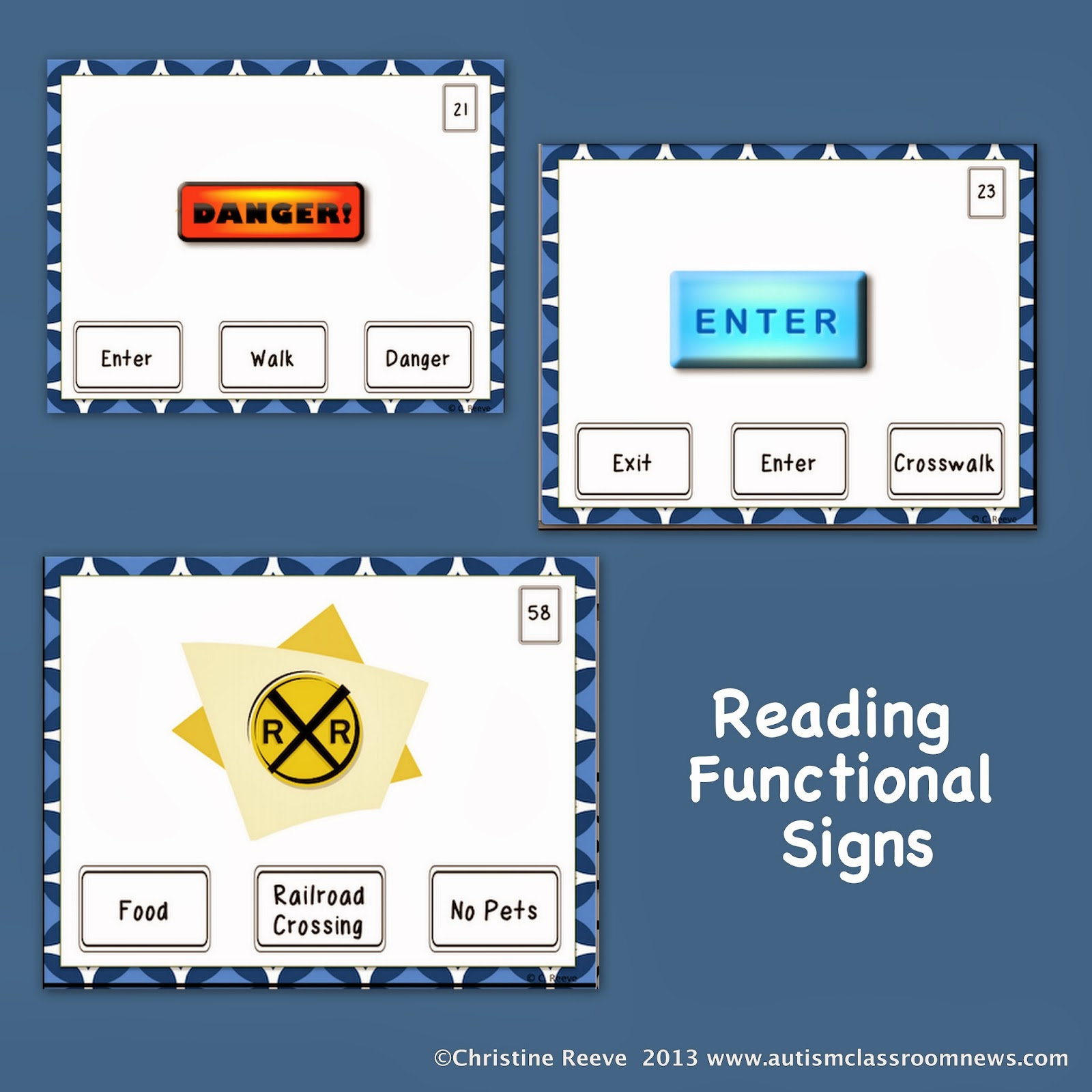 worksheet Functional Reading Comprehension Worksheets functional reading tasks and iep goals autism classroom resources goals