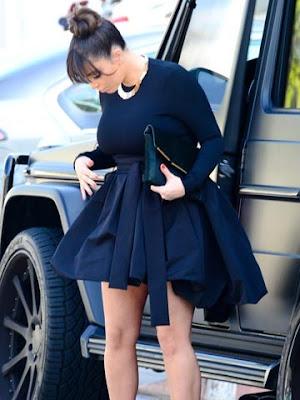 kim kardashian pregnant 2013