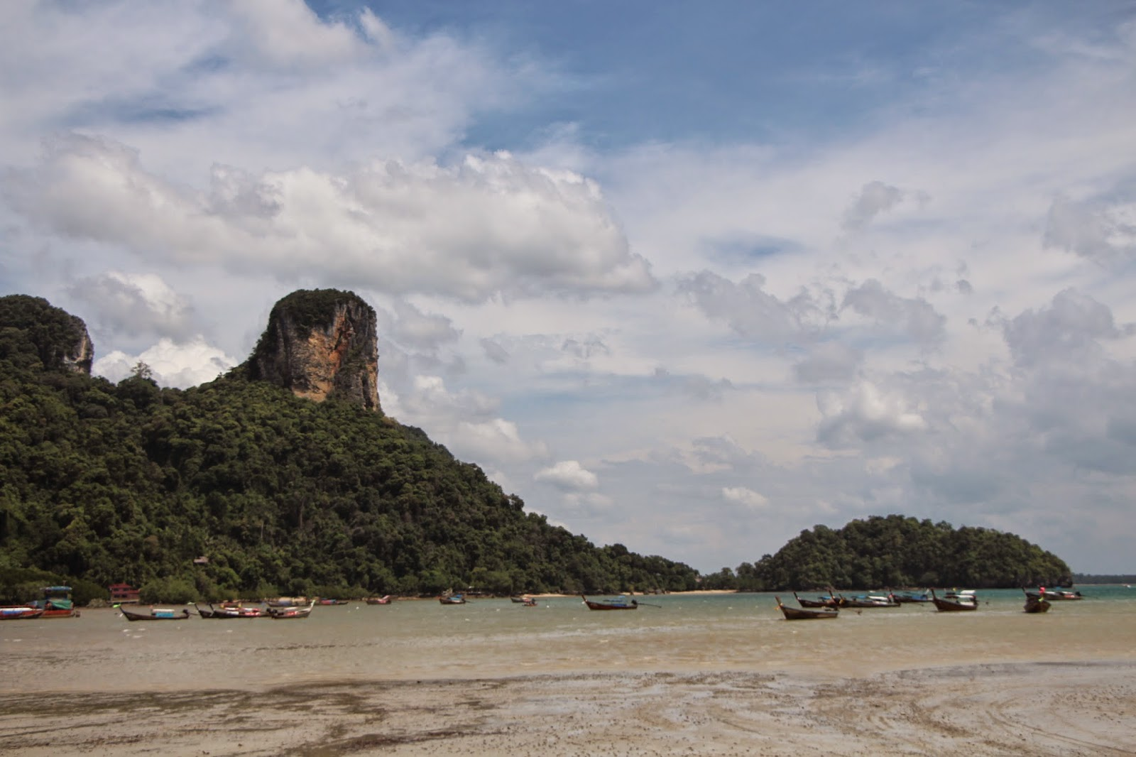 Low tide Railay Beach