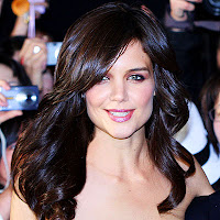 Katie Holmes  shiny, sexylong extensions.