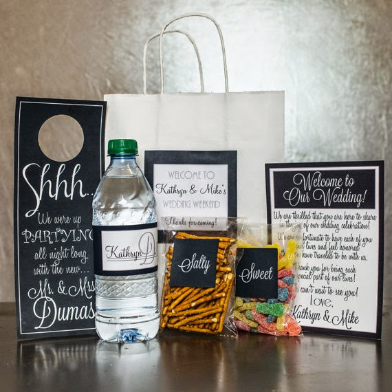 things she loves columbus wedding planner wedding welcome kits