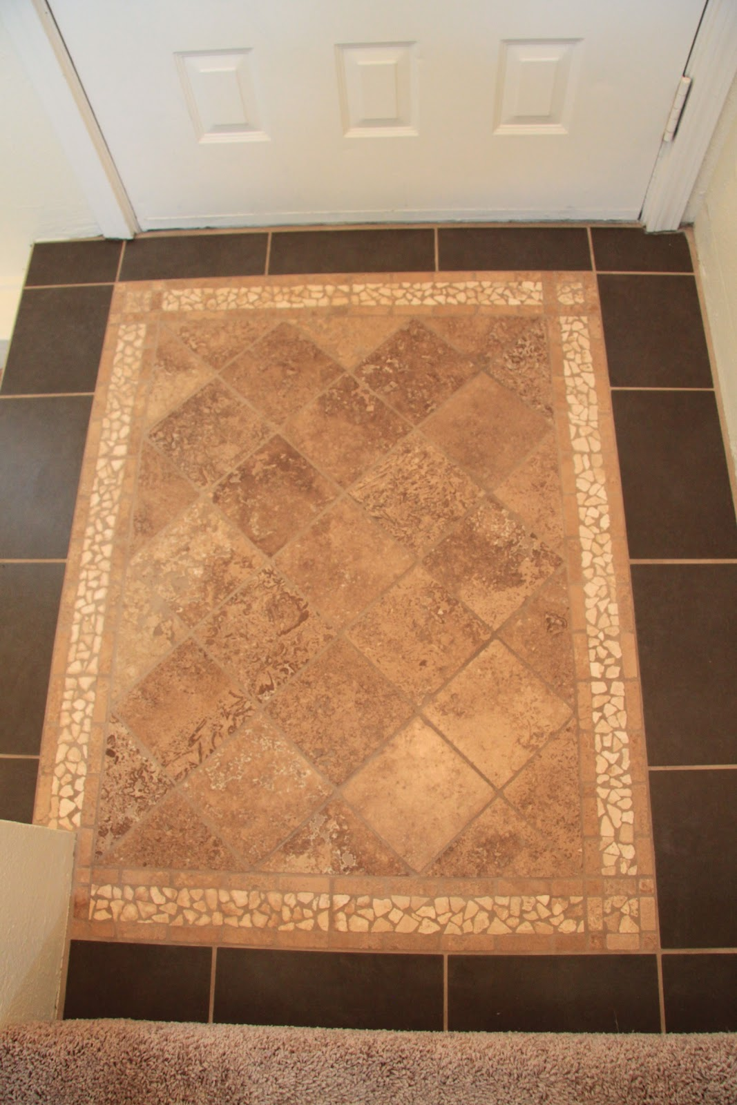 31 dates in 31 days april 2012 for Tile designs for entryways