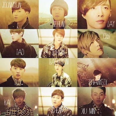 Profil EXO-M Boyband Korea (Biodata - Foto)
