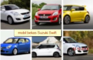 Harga Mobil Suzuki Bekas Swift Rp 100 Jutaan