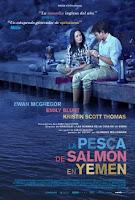 Cartel de la película 'La pesca del salmón en Yemen'