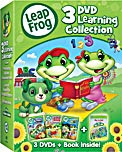 LeapFrog: 3 DVD Learning Collection & Book DVD Review
