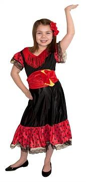 Spanish flamenco dress for girls