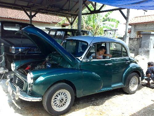 Dijual Morris Minor tahun 1961