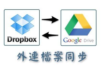 [教學] 管理網站外連檔案的技巧﹍讓 Google Drive 與 Dropbox 同步