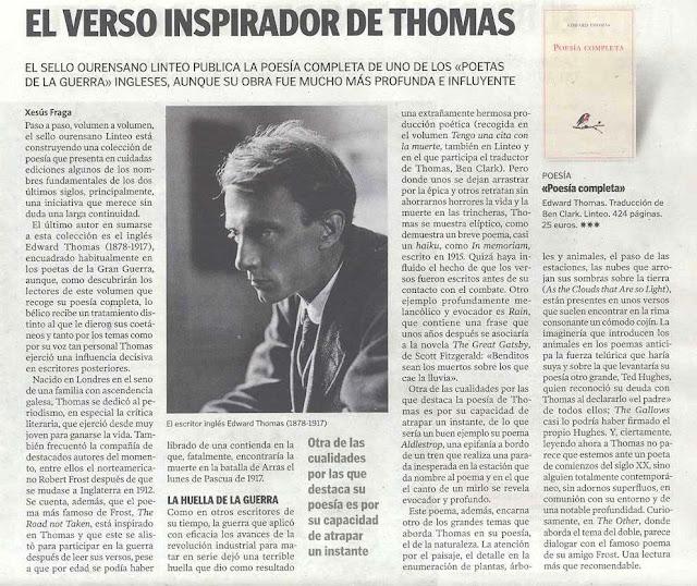 Edward Thomas Poesía Completa