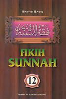 toko buku rahma: buku fiqih sunnah 12, pengarang sayyid sabiq, penerbit pt. alma'arif bandung