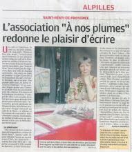 La Provence 11 mai 2011