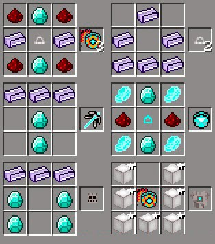 Iron Man Unlimited Mod craftings