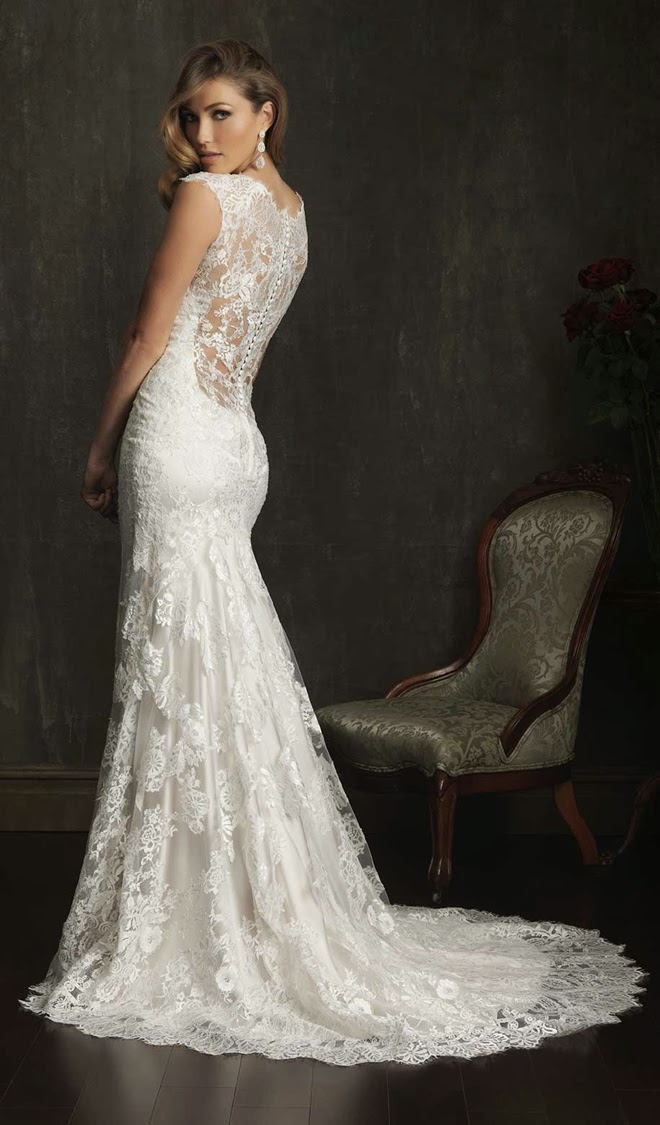 Photos Of Lace Wedding Gowns : Best wedding dresses of belle the magazine