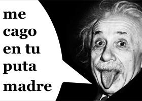 Einstein era un cascarrabias