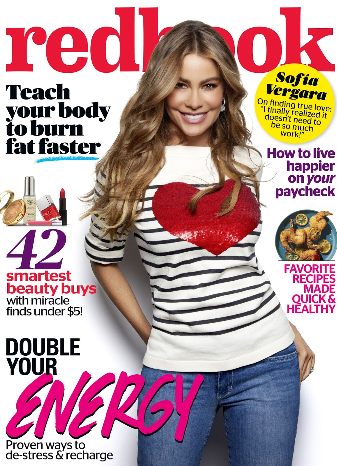 Actress, Model, Television Host @ Sofia Vergara - Redbook Magazine June 2015