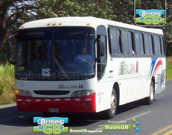 Autobuses guanacaste costa rica busesgb santa cruz san for Mercedes benz san jose