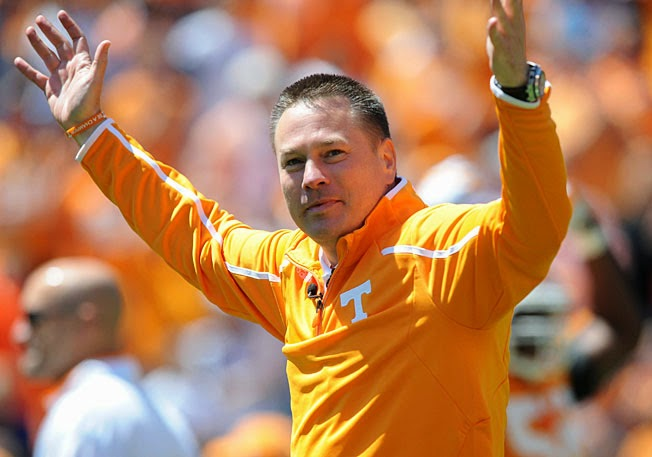 Butch Jones Faces Dearth Of Tennessee Seniors In 2014.