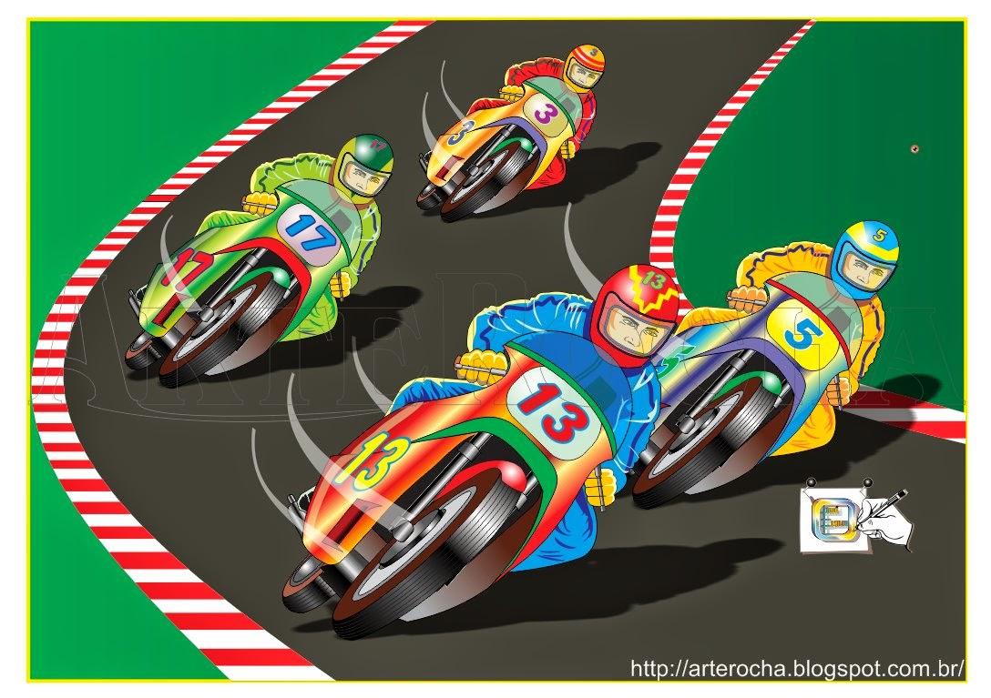 arterocha corrida de motos