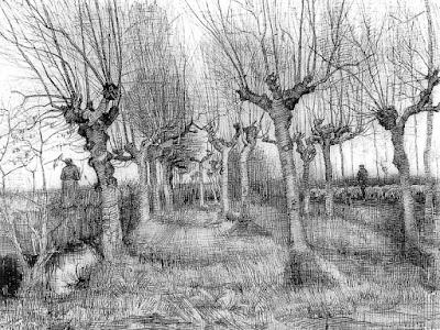 Vincent Van Gogh Pollard Birches