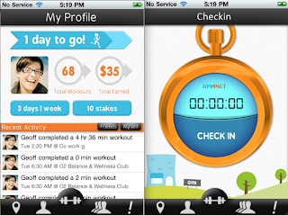 Gym Pact iPhone App