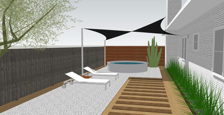 Diy c mo colocar una lona que de sombra en la terraza - Lonas para terrazas ...