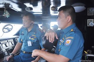 Koarmabar Uji Skill Calon Komandan Kapal Perang