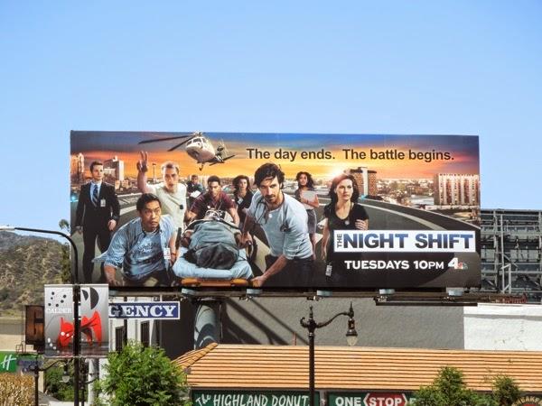 The Night Shift season 1 billboard
