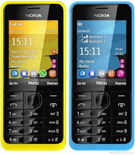 Spesifikasi dan Harga Nokia 301 Dual Sim