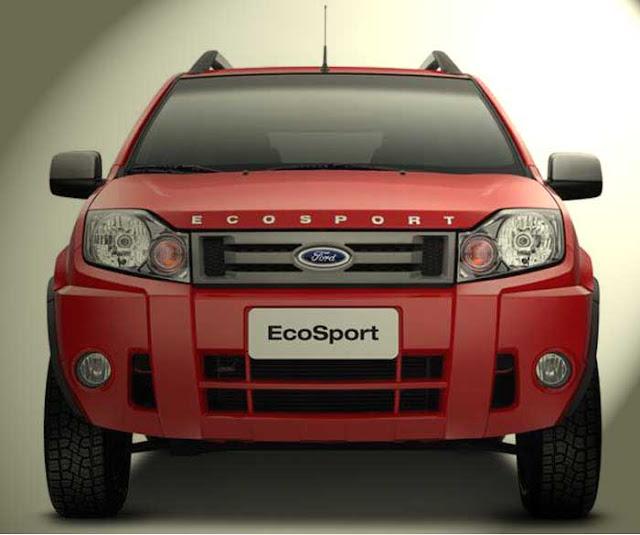 Nova Ford EcoSport FreeStyle 2011 vermelha - frente