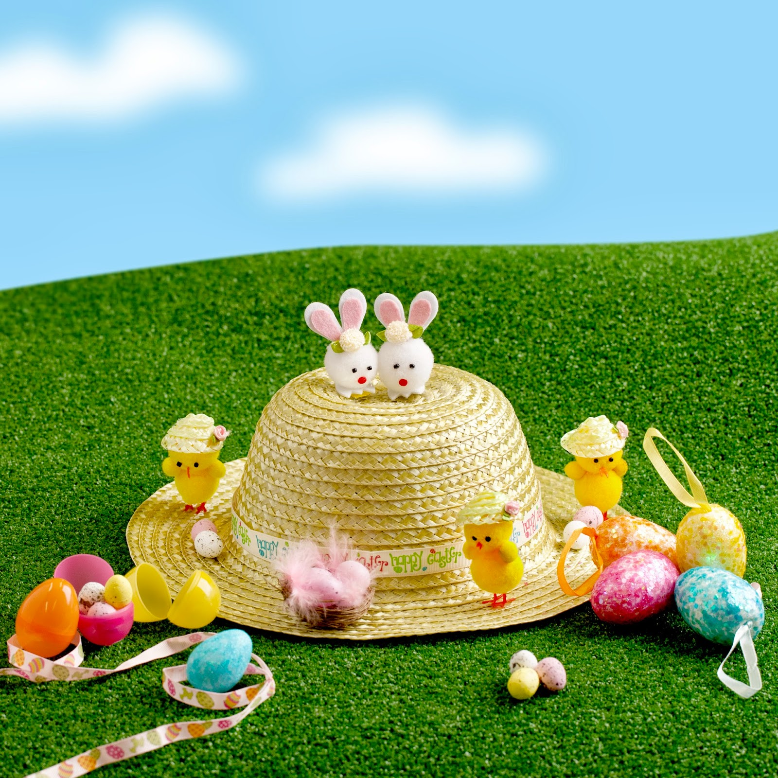 How To Decorate Easter Hats?