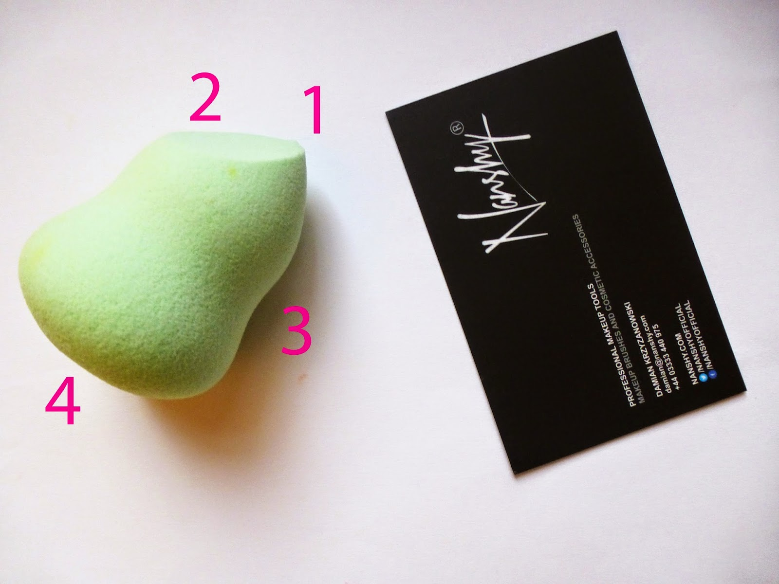 4 in 1 Nanshy Blending Sponge