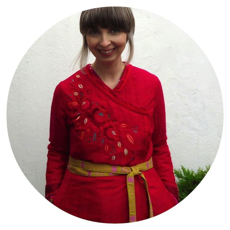 Ivy Arch wears Gudrun Sjödén's Li Wei coat