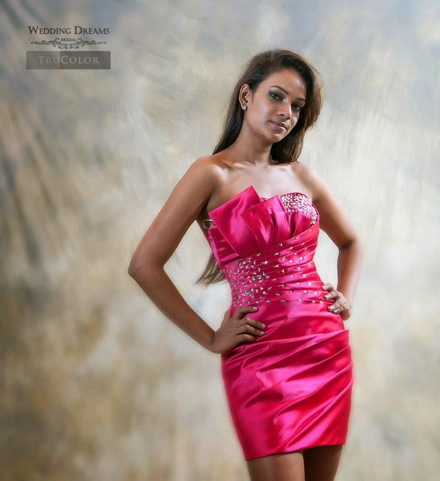 Shermali Perera pink