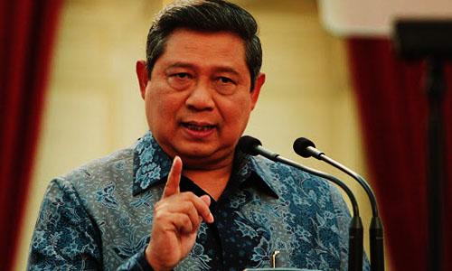 Foto SBY : Pidato