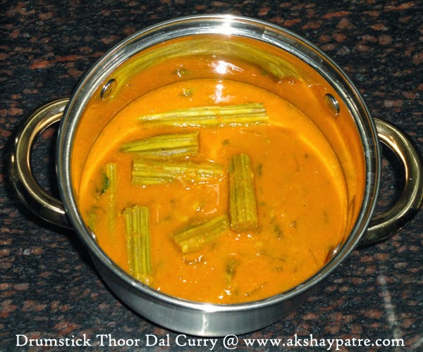 Drumstick Thoor dal Curry