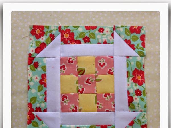 Chatelaine- Free BOW Sampler Quilt Block 25